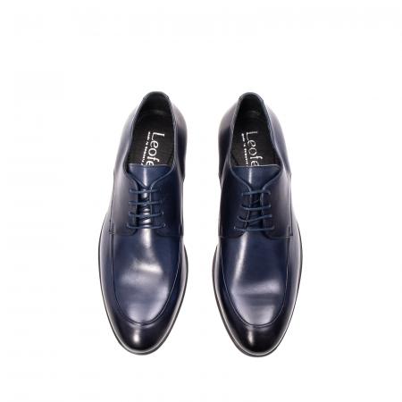 Pantofi barbati eleganti, piele naturala, LFX 577 BL5