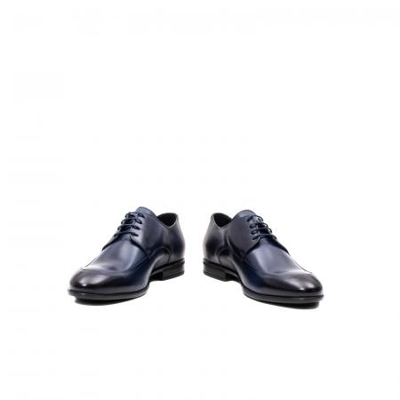 Pantofi barbati eleganti, piele naturala, LFX 577 BL4