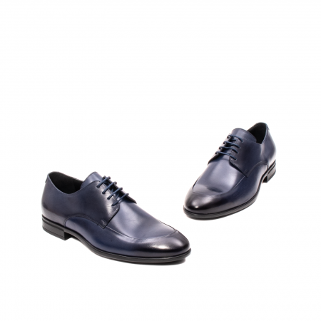 Pantofi barbati eleganti, piele naturala, LFX 577 BL1