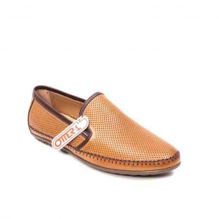 Pantofi barbati mocasini, piele naturala, OT-8401110