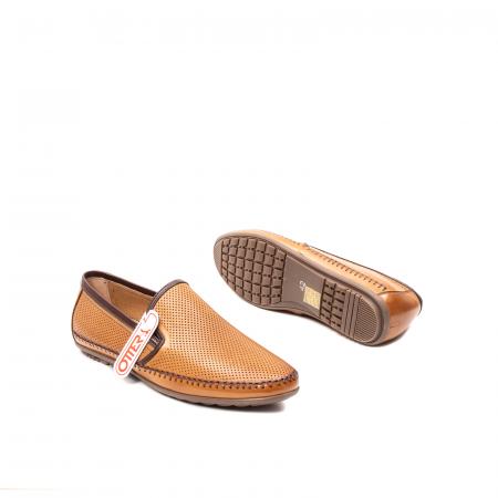 Pantofi barbati mocasini, piele naturala, OT-8401113