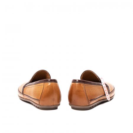 Pantofi barbati mocasini, piele naturala, OT-8401116