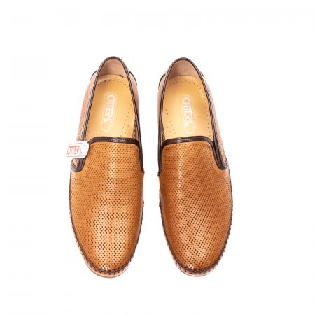 Pantofi barbati mocasini, piele naturala, OT-8401115