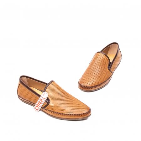 Pantofi barbati mocasini, piele naturala, OT-8401111