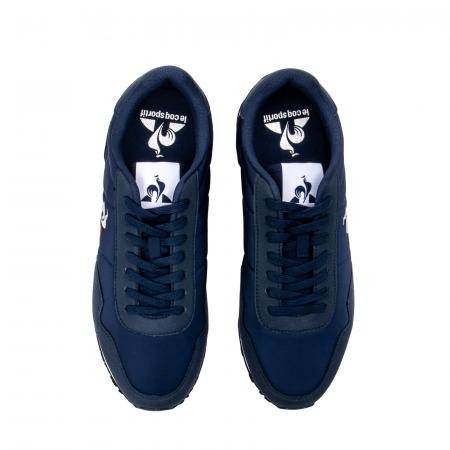 Pantofi sport barbat tip Sneakers, piele intoarsa ecologica, ASTRA 20200095