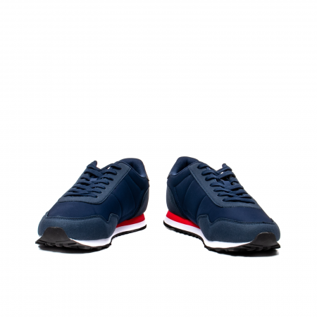 Pantofi sport barbat tip Sneakers, piele intoarsa ecologica, ASTRA 20200094