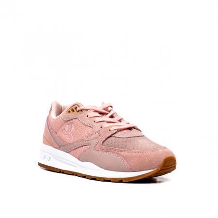 Pantofi sport dama tip Sneakers, piele naturala intoarsa, R800 W0