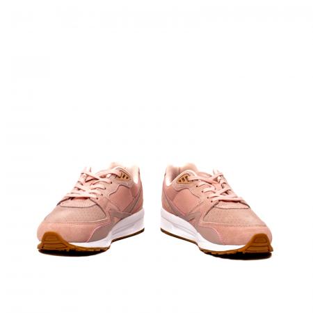 Pantofi sport dama tip Sneakers, piele naturala intoarsa, R800 W4