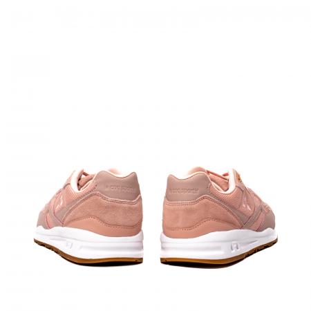 Pantofi sport dama tip Sneakers, piele naturala intoarsa, R800 W6