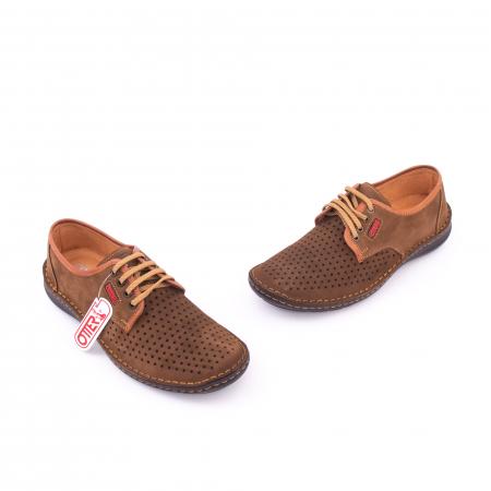 Pantofi vara barbat OT 9558 maro1