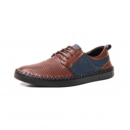 Pantofi vara barbat, piele naturala [0]