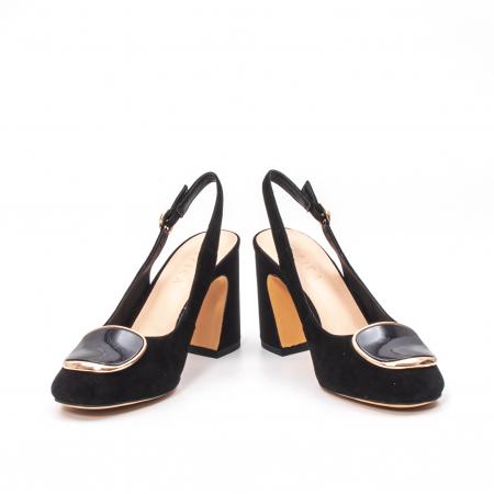 Pantofi dama vara eleganti, piele antilopa, Epica 00H6H4