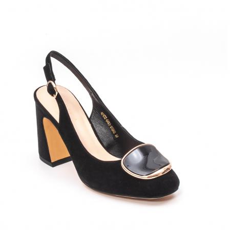 Pantofi dama vara eleganti, piele antilopa, Epica 00H6H0