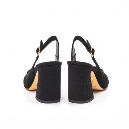 Pantofi dama vara eleganti, piele antilopa, Epica 00H6H6