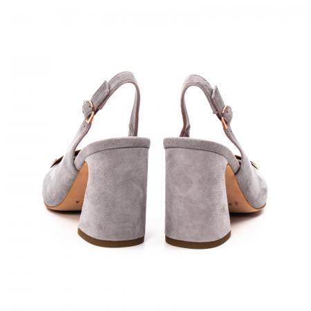 Pantofi dama vara eleganti, piele antilopa, EP-Y662H, multicolor6