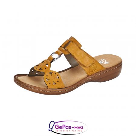 Papuci dama, piele ecologica, 60827-680