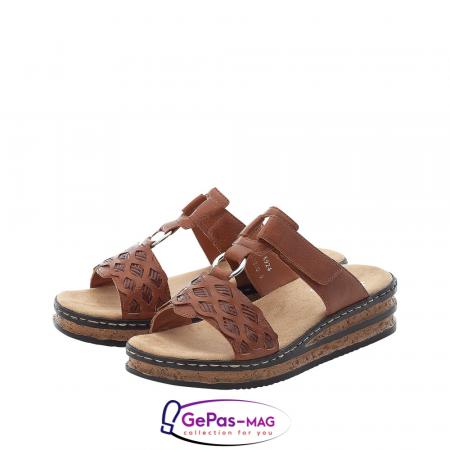 Papuci dama, piele ecologica, 629K9-246
