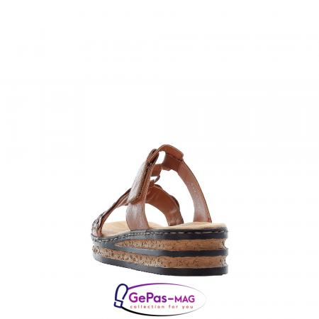 Papuci dama, piele ecologica, 629K9-244