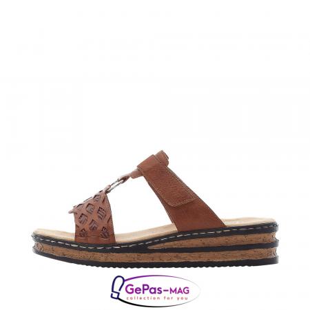 Papuci dama, piele ecologica, 629K9-243