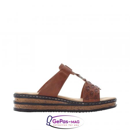 Papuci dama, piele ecologica, 629K9-245
