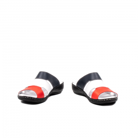 Papuci dama, piele naturala E3440, 15-N4