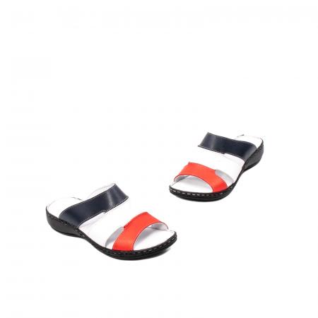 Papuci dama, piele naturala E3440, 15-N1