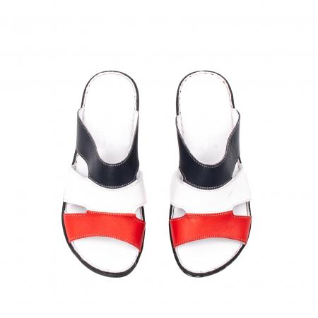 Papuci dama, piele naturala E3440, 15-N5
