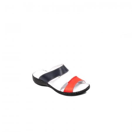 Papuci dama, piele naturala E3440, 15-N0