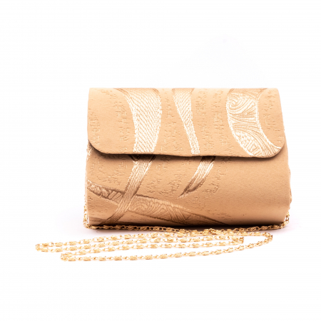 Plic  butoias 002 textil bej auriu0