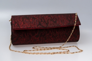 Plic butoias 002 textil rosu grena1
