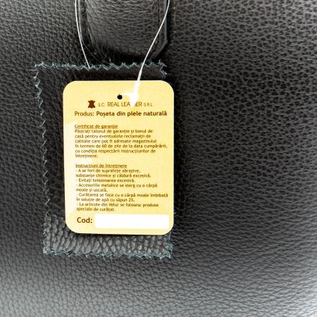 Poseta din piele naturala - BOX [1]