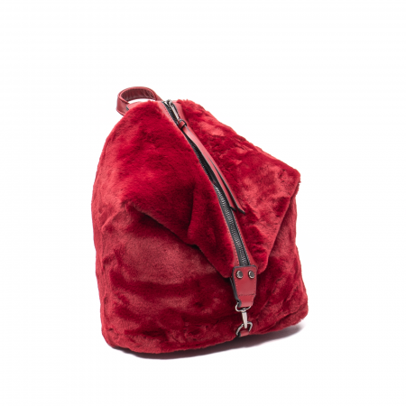 Rucsac dama blanita, Puffy 1355 B, Bordo