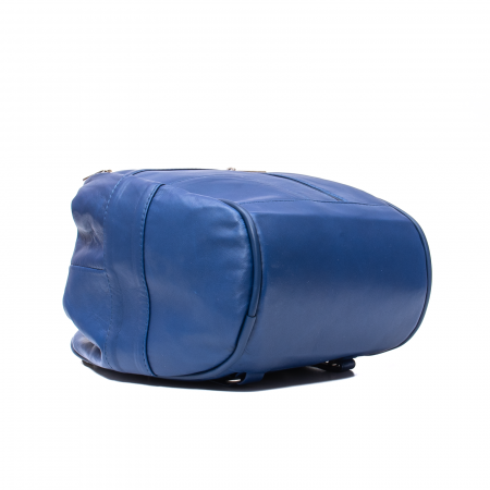 Rucsac tip poseta, piele naturala, 050 Albastru3