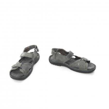 Sandale barbat  LFX 693 - Gri4
