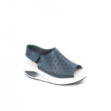 Sanda casual dama 035 bleumarin0