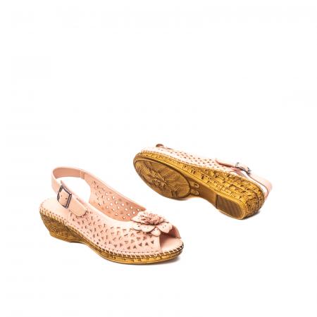 Sandale dama, piele naturala, D43700 M2-N2