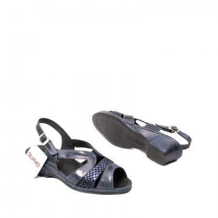 Sandale dama, piele naturala, Roma SU0259 42-N3