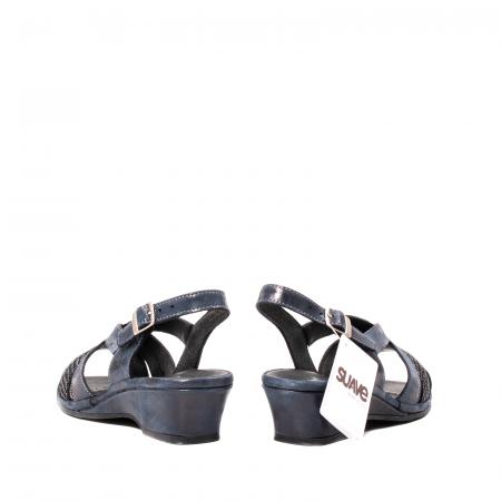 Sandale dama, piele naturala, Roma SU0259 42-N6