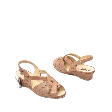Sandale dama, piele naturala, ROMA SU02642