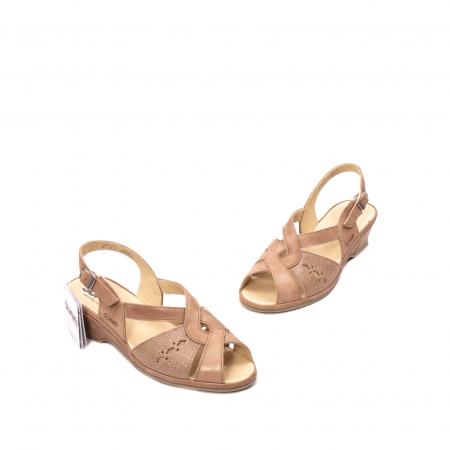 Sandale dama, piele naturala, ROMA SU02641