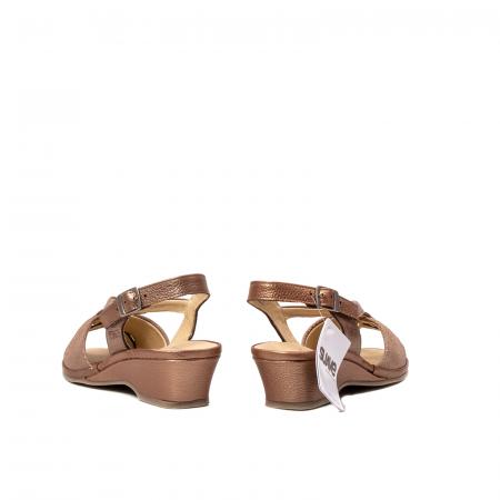 Sandale dama, piele naturala, SU0065 ROMA B2-N [6]