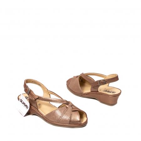 Sandale dama, piele naturala, SU0065 ROMA B2-N [2]