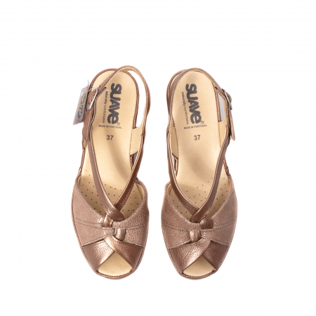 Sandale dama, piele naturala, SU0065 ROMA B2-N [5]
