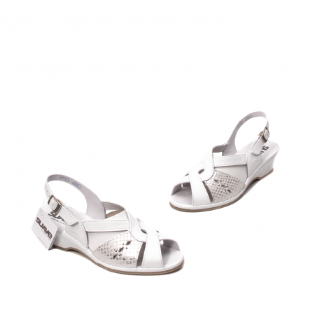 Sandale dama casual, piele naturala, SU0264P ROMA 13-N1
