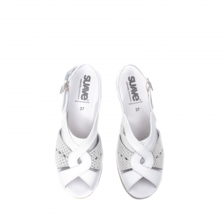 Sandale dama casual, piele naturala, SU0264P ROMA 13-N5