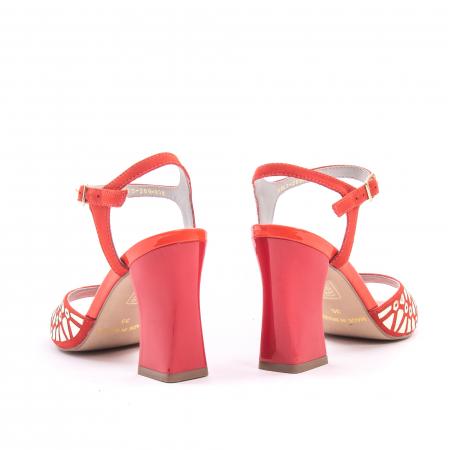 Sandale dama elegante Epica OE8643 05-2, rosu2