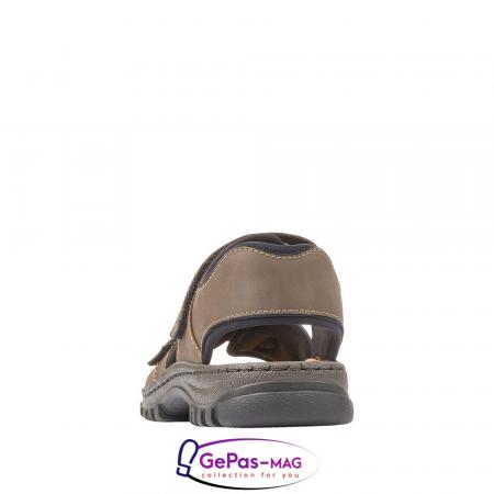 Sandale barbati, piele naturala, 25051-273