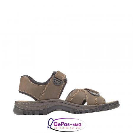 Sandale barbati, piele naturala, 25051-275