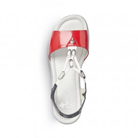 Sandale dama model casual Tommy, piele naturala, RIK V02Y6-333