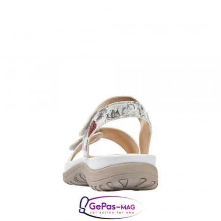 Sandale casual dama, multicolor, V8850-803